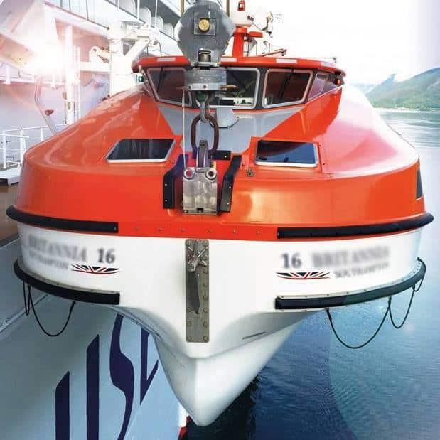 Lifeboats and Davits