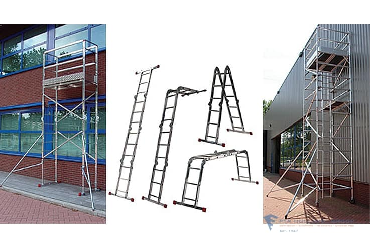 Scaffolds and Ladders