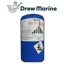 ACC-9 from Drew Marine is a combination of non-abrasive, non-corrosive solvents, detergents and inhibitors.